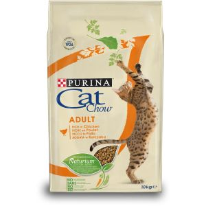CAT CHOW ADULT RICHE EN POULET 10kg