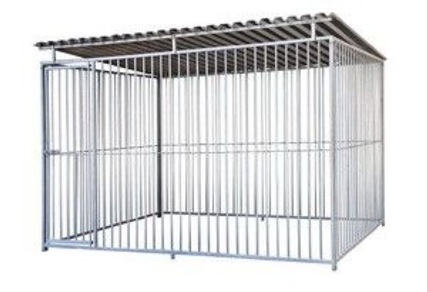 chenil pour chiens en kit 8 m2. Black Bedroom Furniture Sets. Home Design Ideas