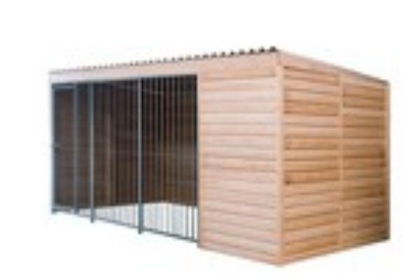 chenil isol en kit. Black Bedroom Furniture Sets. Home Design Ideas