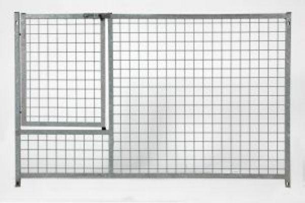 grille de parc chiots panneau treillis barralon. Black Bedroom Furniture Sets. Home Design Ideas