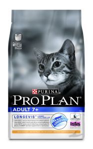 PRO PLAN CAT ADULT 7 + STERILISED RICHE EN DINDE 3 KG