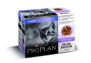 PROPLAN CAT NUTRISAVOUR JUNIOR 10 X 85 G