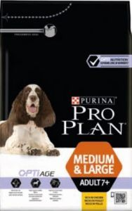 PROPLAN DOG ADULT 7 + MEDIUM & LARGE (riche en poulet) 14 KG