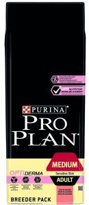 PROPLAN DOG ADULT MEDIUM SENSITIVE SKIN (riche en saumon) 18 KG