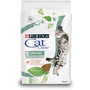 CAT CHOW STERILISED RICHE EN POULET 10kg