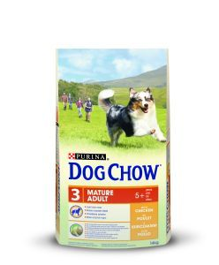 DOG CHOW MATURE ADULT AU POULET 14 KG