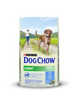 DOG CHOW LIGHT AVEC DE LA DINDE 14 KG